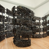 Chakaia Booker, ANONYMOUS DONOR, 2015 Renwick Gallery of the Smithsonian American Art Museum Photos by Ron Blunt
