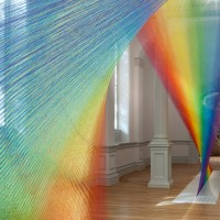 Gabriel Dawe, Plexus A1, 2015 Renwick Gallery of the Smithsonian American Art Museum Courtesy Conduit Gallery Photos by Ron Blunt