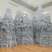 Tara Donovan, Untitled, 2014 Renwick Gallery of the Smithsonian American Art Museum © Tara Donovan, courtesy of Pace Gallery Photos by Ron Blunt