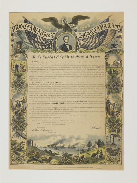 Copy of proclamation