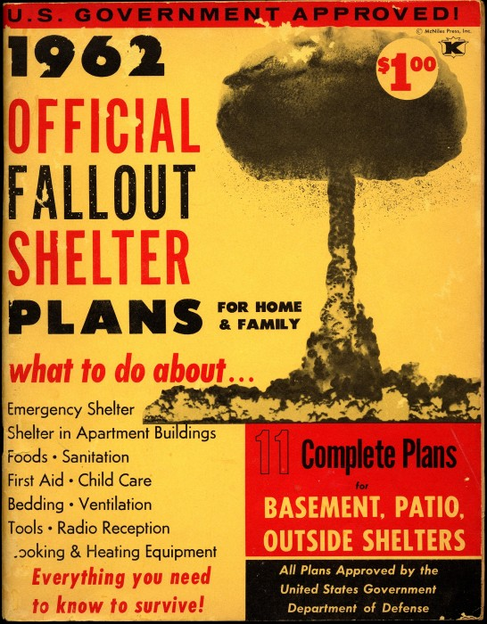 Plans for fallout shelter