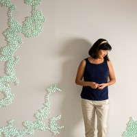 Maya Lin, Folding the Chesapeake, 2015 Renwick Gallery of the Smithsonian American Art Museum Photo copyright Stephanie Sinclair