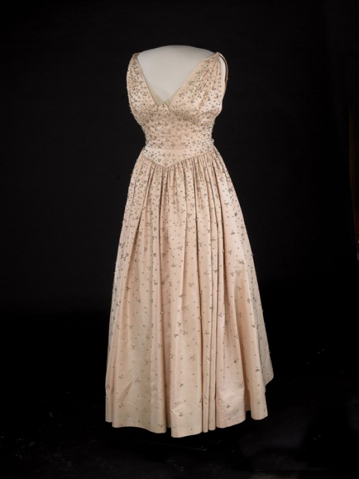 gown on display