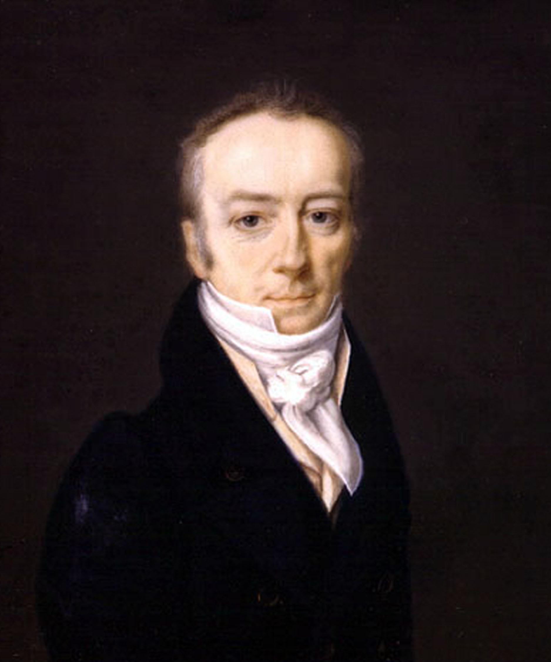 James Smithson by Henri-Joseph Johns, 1816
