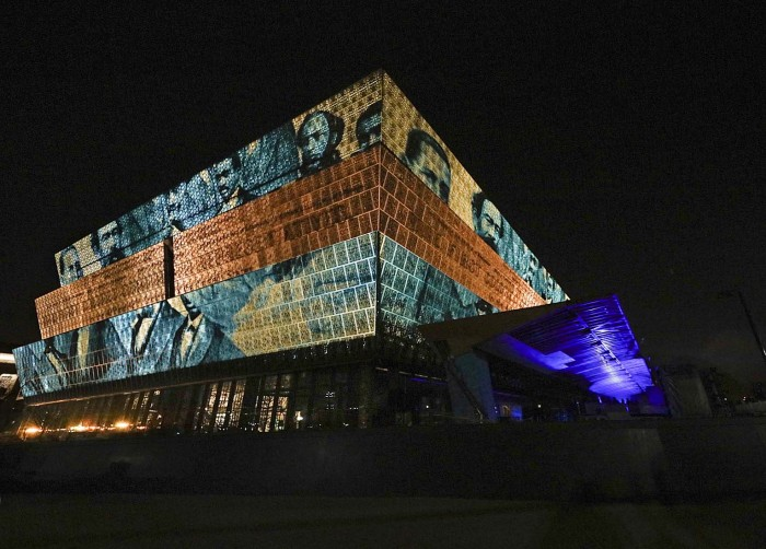 """Commemorate and Celebrate Freedom"" Nov. 16, 2015 at the National Museum of African American History and Culture (Photo by Eric Long)"
