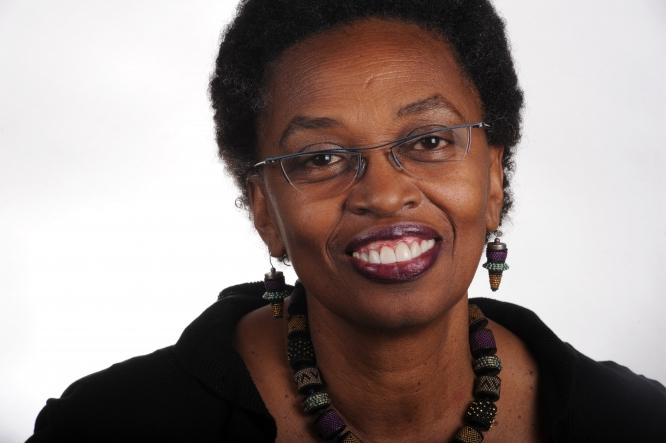 Portrait of Claudine Brown