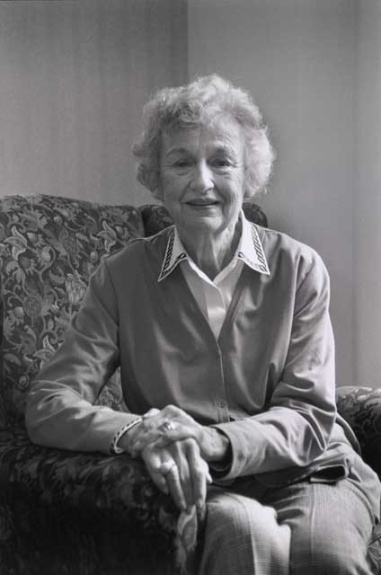 portrait of Virginia Outwin Boochever