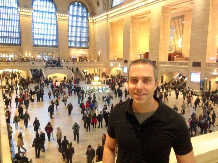 babcock in Grand Central Station
