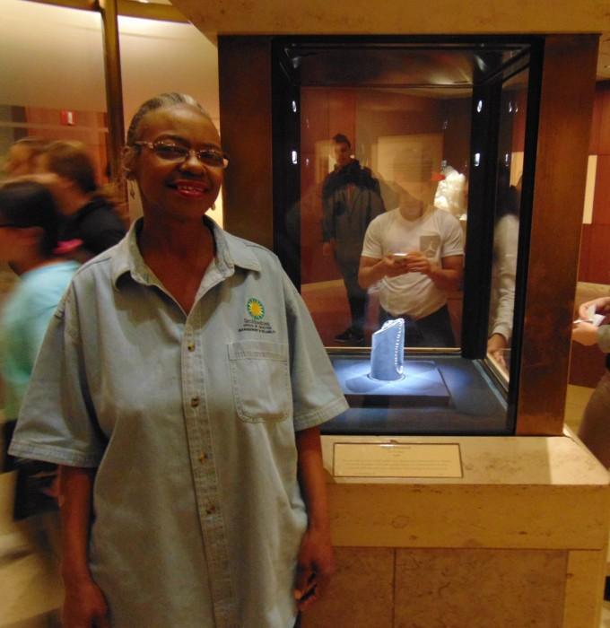 Petty at Natural history Museum
