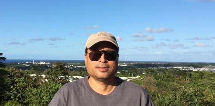 Paul Yamaguchi in Hawaii