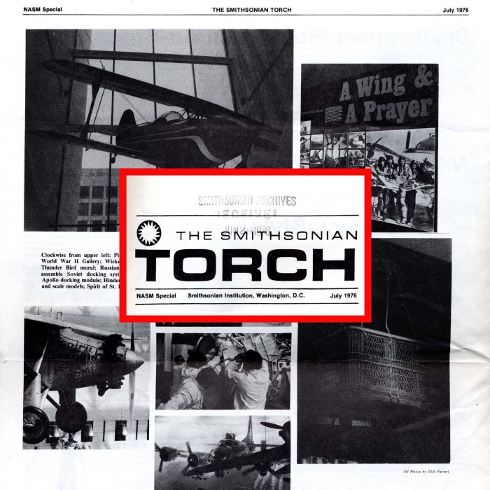Composite shot of special 1976 edition of the Torch