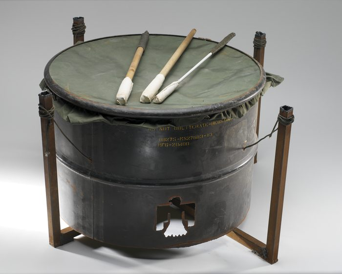 Instrument made from oil drum