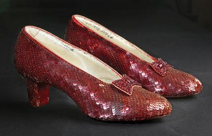 AP photo of ruby slippers