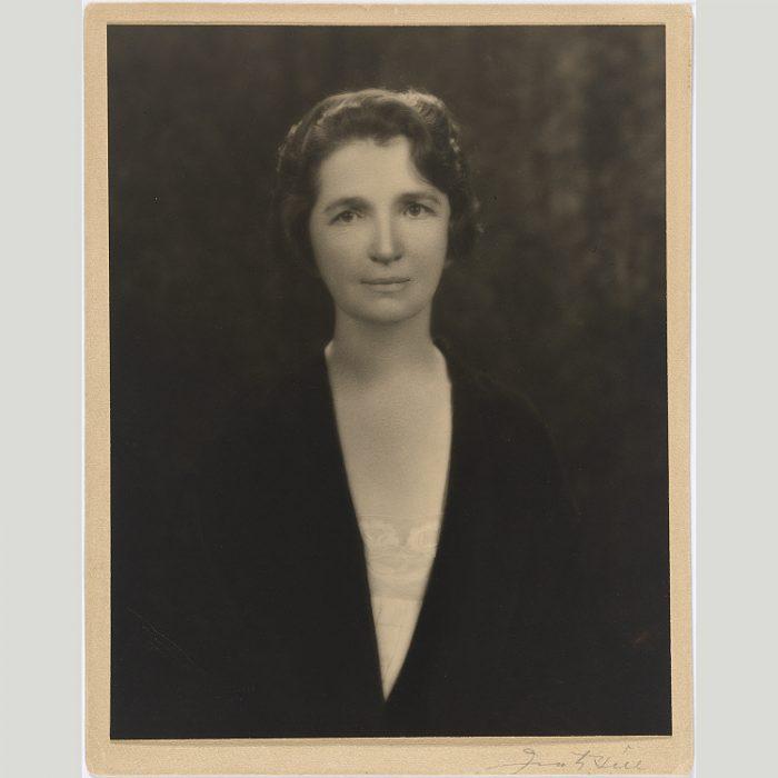 Studio portrait of Sanger