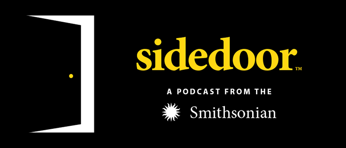 Logo for Sidedoor podcast