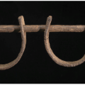 Shackles from the collection of the National Museum of Afr4ican American history and Culture