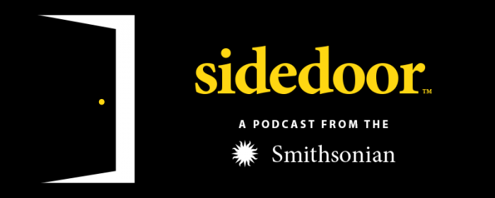 Logo banner for sidedoor podcast