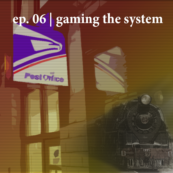 Podcast Episode Gaming the System logo