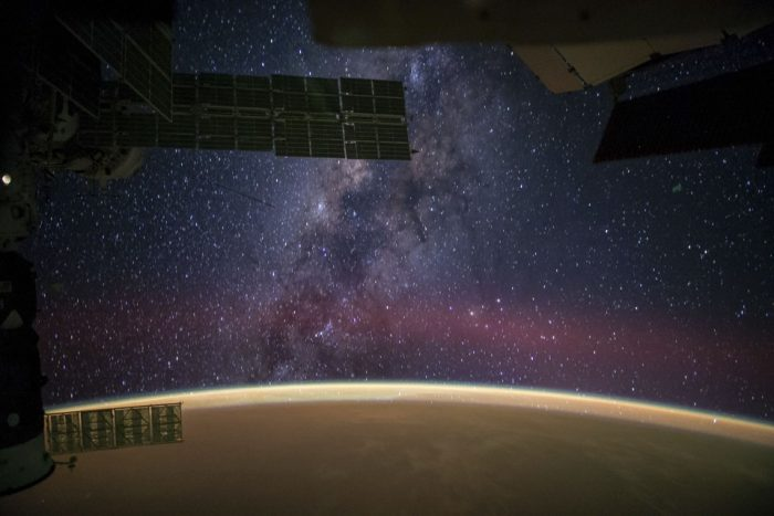 Milky Way as seen from space