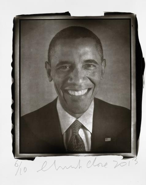 Black and white photo of young Obama