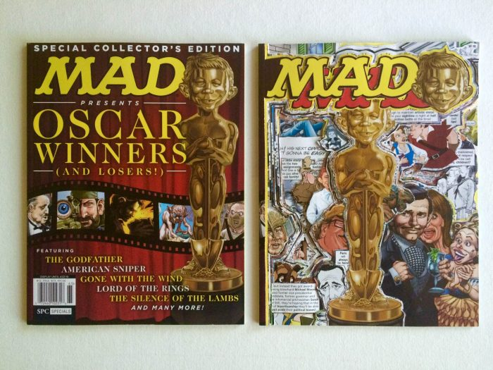 Mad magazine collage
