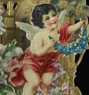 Cropped Victorian Valentine