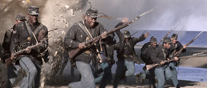 Still image from 1989 film Glory