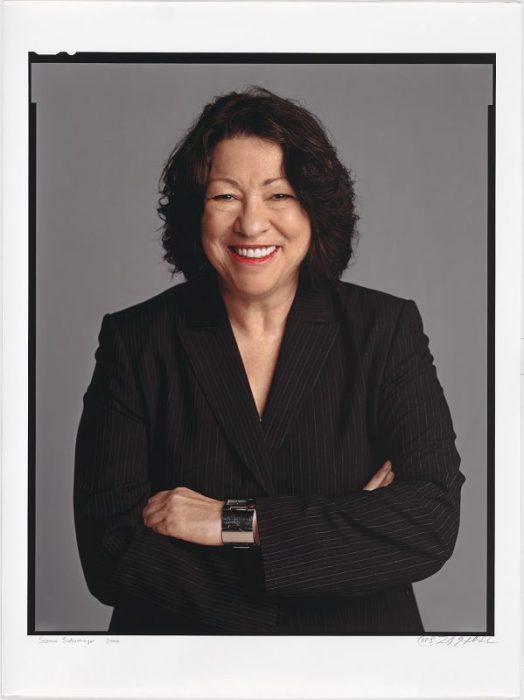 Portrait of Sotomayor
