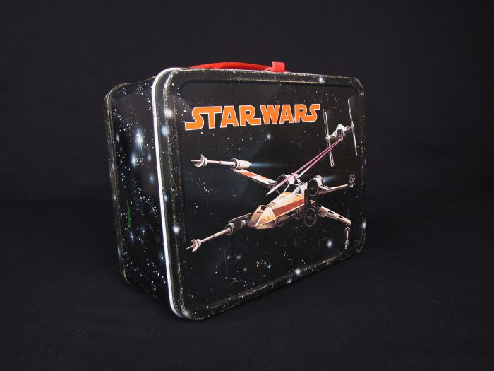 Black Star Wars lunchbox