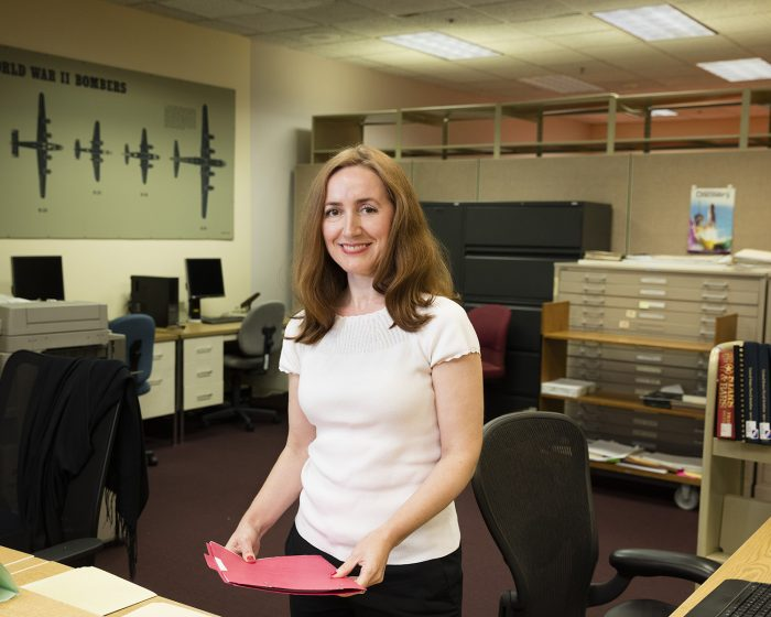 Fay-Lukic in her office