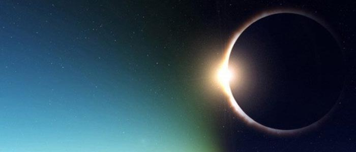Art'sts rendering of solar eclipse
