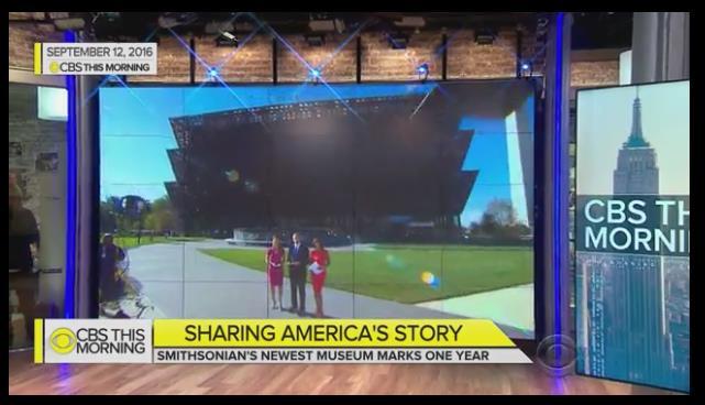 Screenshot from CBS This Morning program