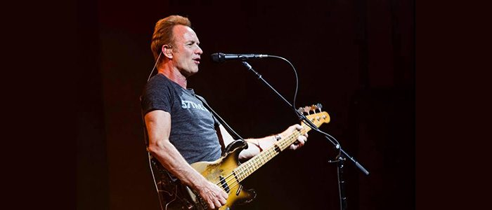 Sting makes Stratocastic donation to the American History Museum