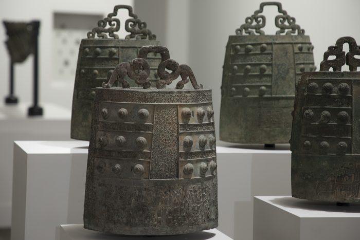 ornate iron bells
