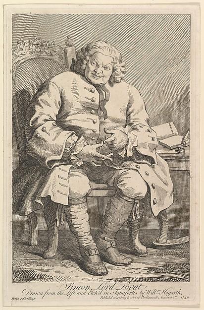 engraving o Simon Fraser