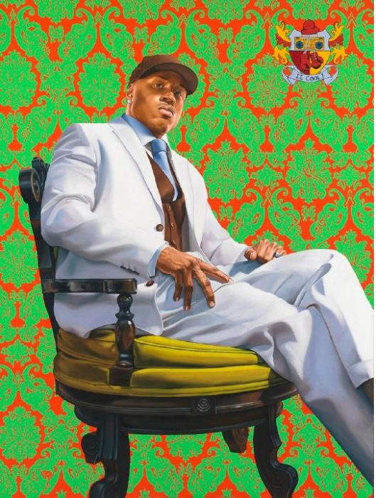 Colorful portrait of LL Cool J