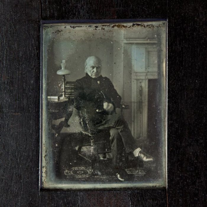 daguerrotype of Adams