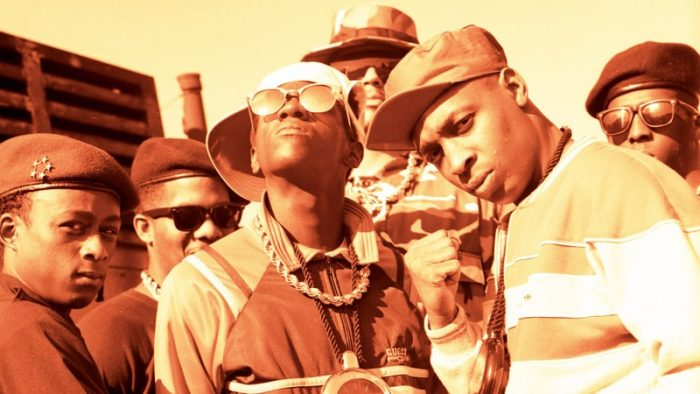Hip hop group Public Enemy