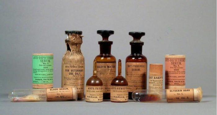 antique bottles