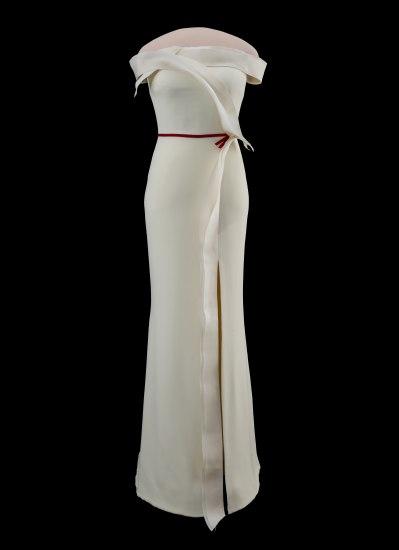 Melania Trump's white gown