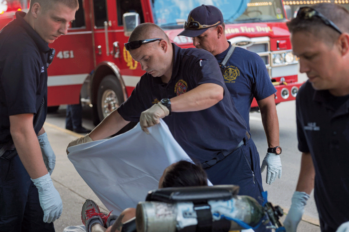 EMTs with patient