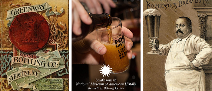 composite image of beer-related photos
