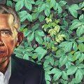 cropped portrait of Obama