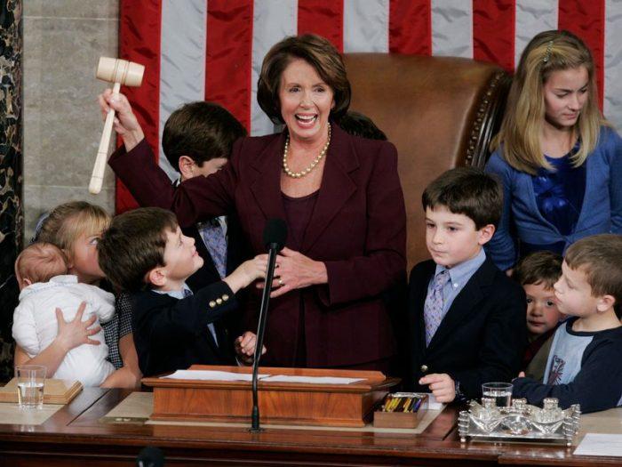 Pelosi in 2007