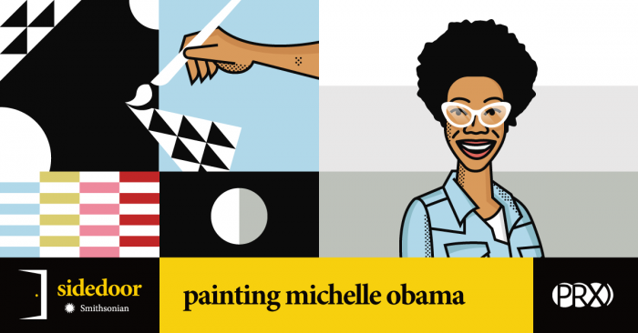 Sidedoor: Painting Michelle Obama