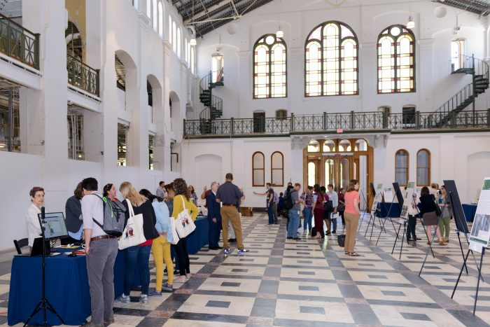 Visitors in Grand Hall