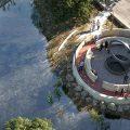 cropped rendering of Native American Veterans memorial