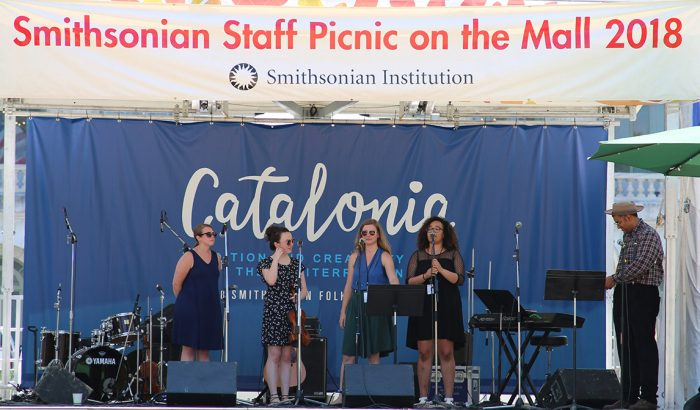 Group prepares to perform on Catalonia stage