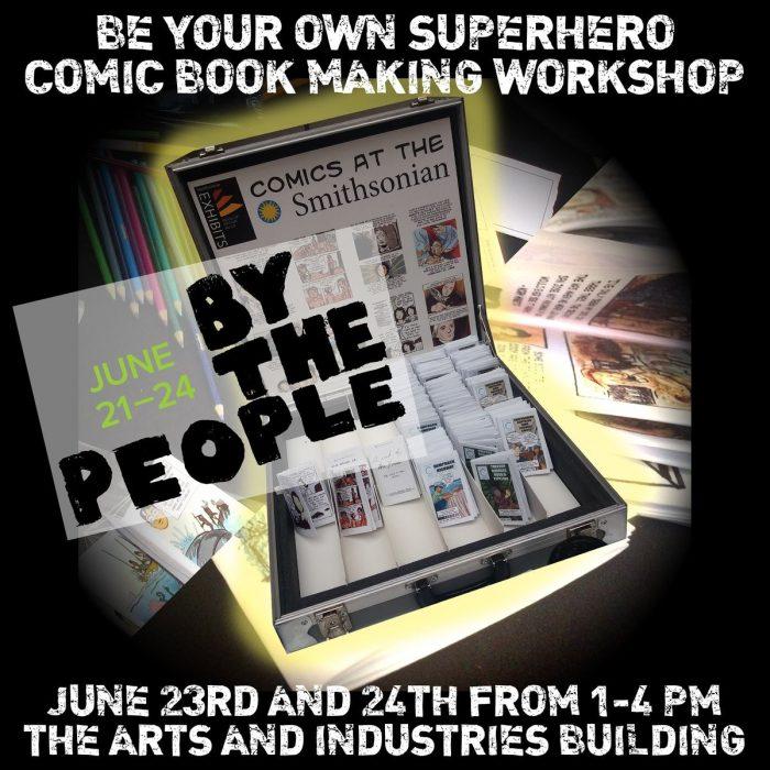 Ad for comics workshop