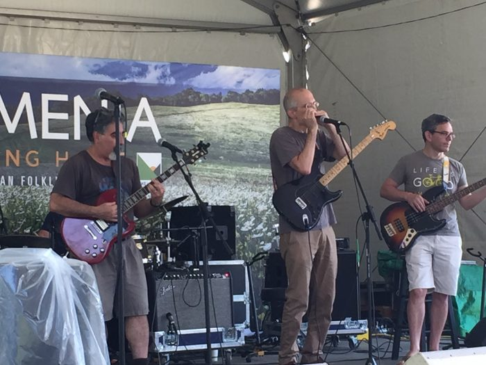 Red Castle Blues Band in performance